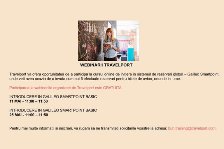 Ateliere de carieră – întâlnire cu reprezentanții Travelport
