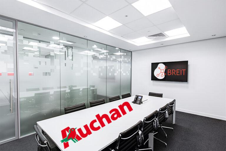 Întâlnire cu reprezentanții Auchan